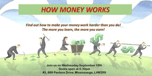 """How Money Works"" - Financial education session on Mortgages, Investments & Insurance"