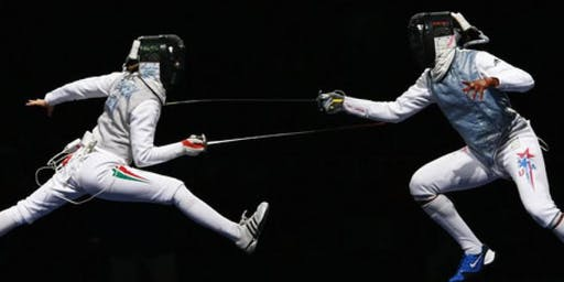 Fencing night classes at the Orion Fencing Club - Tuesdays
