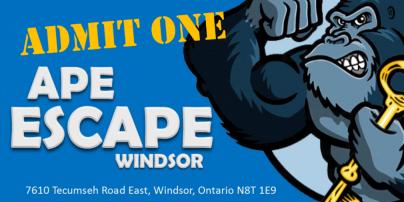 Independent Adult Night: APE Escape