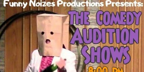 The Comedy Audition Shows tickets