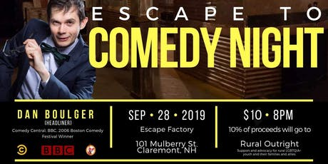 Comedy at the Escape Factory tickets