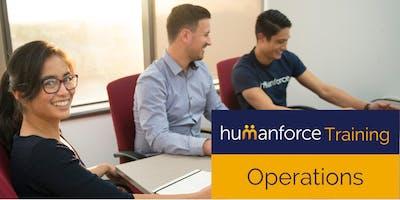 Humanforce Operations Group Training - Sydney