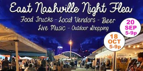 East Nashville Night Flea tickets