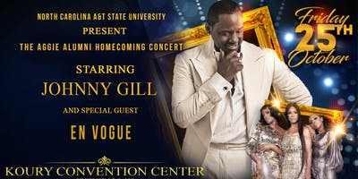 N.C. A&T Aggie Alumni Homecoming Concert featuring Johnny Gill and En Vogue