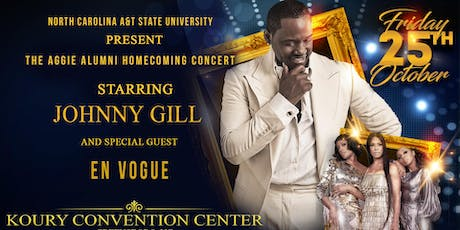 N.C. A&T Aggie Alumni Homecoming Concert featuring Johnny Gill and En Vogue tickets