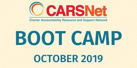 CARSNet Boot Camp: October 16-17, 2019 - Santa Clara COE tickets
