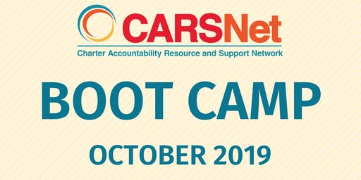 CARSNet Boot Camp: October 16-17, 2019 - Santa Clara COE