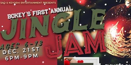 Bokey's 1st Jingle Jam tickets