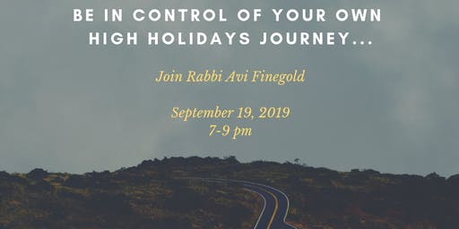 High Holiday Boot Camp with Avi Finegold