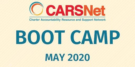 CARSNet Boot Camp: May 7-8, 2020 - Fresno COE