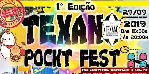 Texano Pockt Fest - 1ª Edição + Níver Edu Falcon