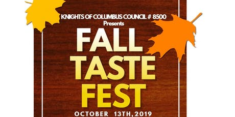 Fall Taste Festival tickets