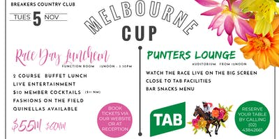 Melbourne Cup - Race Day Luncheon