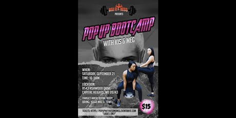 Basketball Skills Institute (BSI) Presents POPUP BOOTcamp with Kis & Meg tickets
