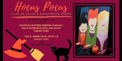Hocus Pocus Canvas Class