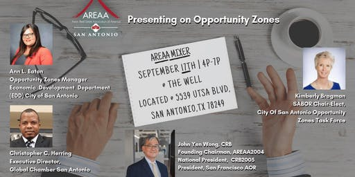 AREAA Mixer and Opportunity Zones Presentation