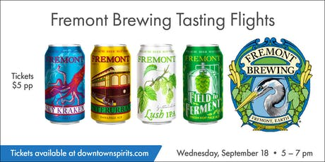 Fremont Brewing Tasting Flights tickets