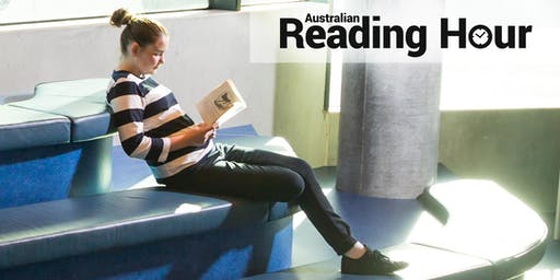 Australian Reading Hour - Reading Aloud at Hobart Library