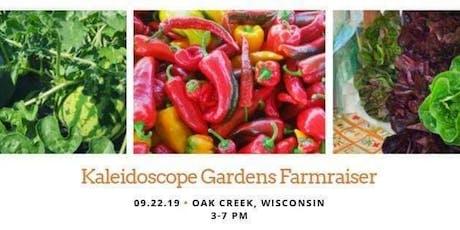 Kaleidoscope Gardens Farmraiser tickets