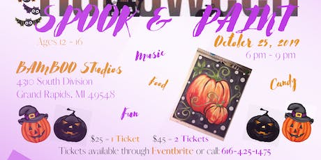 Spook & Paint tickets