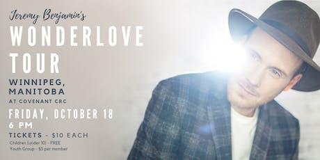 Jeremy Benjamin and Family - Wonderlove Tour tickets