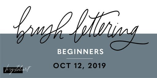Krysteliart Hand-Lettering Workshop for Beginners