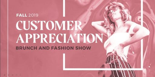 Fall 2019 Mary Kay Customer  Appreciation Brunch & Fashion Show
