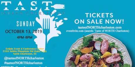 2nd Annual Taste of NORTH Charleston tickets