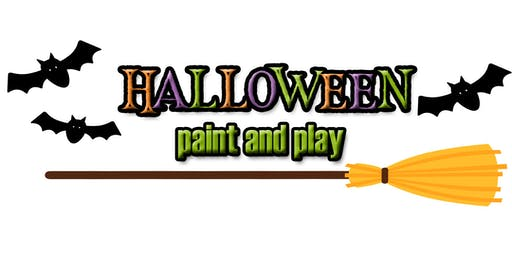 Halloween paint and play