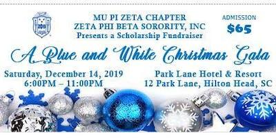 Mu Pi Zeta Chapter of the Zeta Phi Beta Sorority, Inc.  Blue & White Christmas