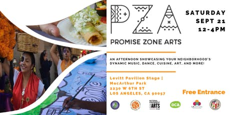 Promise Zone Arts Live! tickets