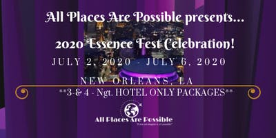 2020 Essence Festival! Early Bird Deposit Special! ONLY $25 PP DEPOSIT!