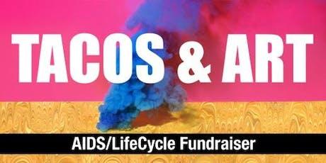 Tacos & Art a Cyclepaths Fundraiser tickets