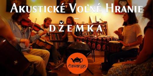 Akustické voľné hranie – džemka