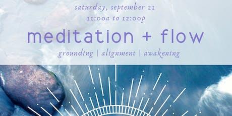 Meditation + Flow Yoga tickets