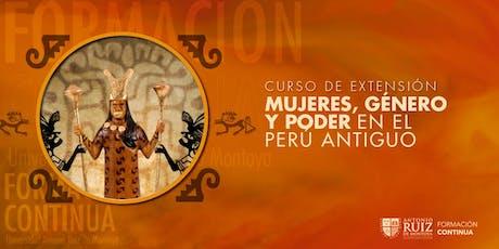 Mujeres, género y poder en el Perú antiguo entradas