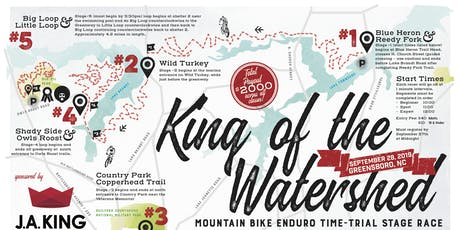 JA King & Queen of the Watershed Race and Fun Ride tickets