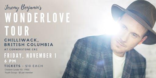 Jeremy Benjamin and Family - Wonderlove Tour