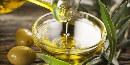 Olive Oil Basics 101 - Class Date:  November 9, 2019