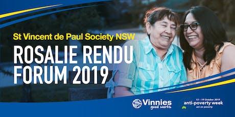 2019 Rosalie Rendu Forum tickets