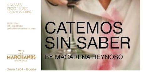 Catemos sin saber by Macarena Reynoso entradas