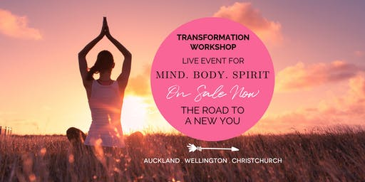 The Road To a New You With Natali Brown - Wellington