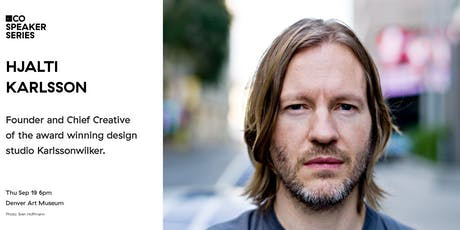 AIGA CO Speaker Series | Hjalti Karlsson tickets