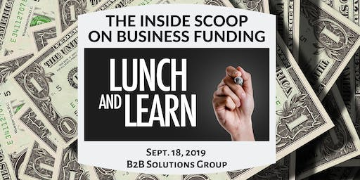 The Inside Scoop on SBA and Business Equity Funding Lunch & Learn + Business Networking