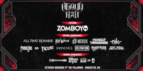 HEAVY FEST: Chapter Two @ The Palladium | Worcester, MA | 11.9.19 tickets