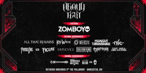 HEAVY FEST: Chapter Two @ The Palladium | Worcester, MA | 11.9.19