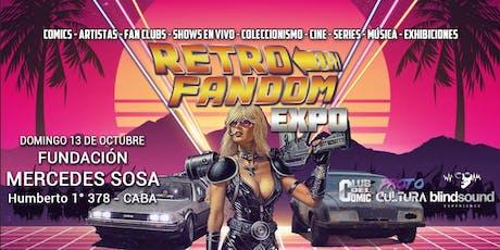 Retro Fandom Expo 2019 entradas