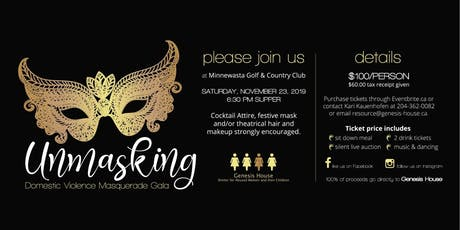 Unmasking Domestic Violence Masquerade Gala tickets