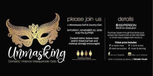 Unmasking Domestic Violence Masquerade Gala