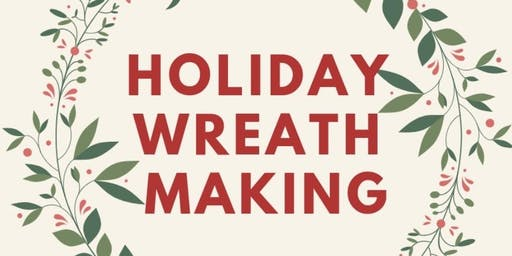 Holiday Wreath Making at The Creamery